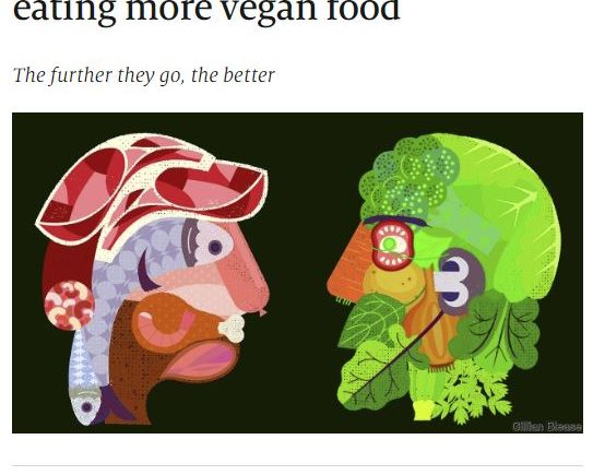 Why people in rich countries are eating more vegan food