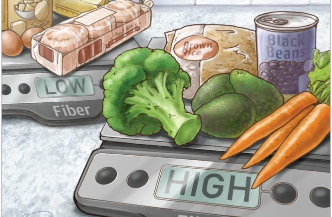 High-Fiber Diet Might Protect Against Range of Conditions JAMA. Rita Rubin, MA. Published April 17, 2019. doi:10.1001/jama.2019.2539