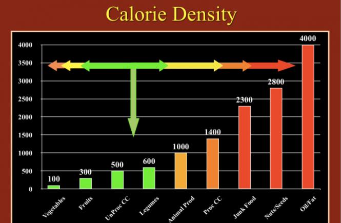 Calorie Density Graph