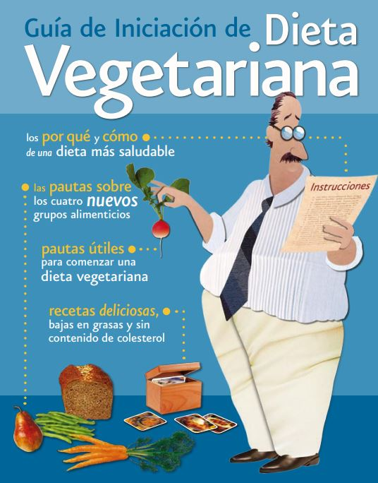 Guía Iniciación dieta vegetariana del Physicians Committee for Responsible Medicine